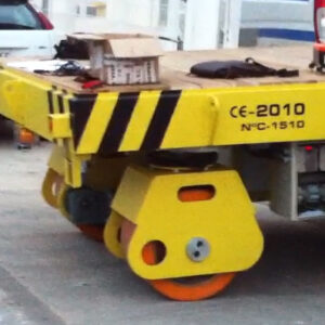 Transporte robotizado industrial pesado